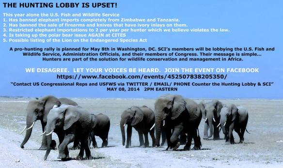 Stop SCI trying to bully the USFWS!