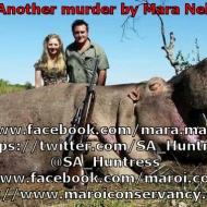 www.facebook.com/mara.maroi https://twitter.com/SA_Huntress @SA_Huntress https://www.facebook.com/maroi.conservancy http://www.maroiconservancy.co.za