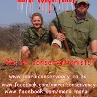 http://www.maroiconservancy.co.za https://www.facebook.com/maroi.conservancy https://www.facebook.com/mara.maroi https://www.facebook.com/julious.heyneke @Mara_Nel_Maroi