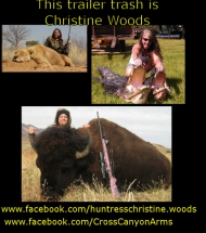 https://www.facebook.com/huntresschristine.woods https://www.facebook.com/CrossCanyonArms