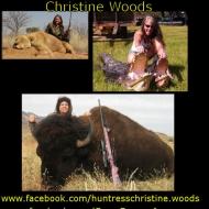 https://www.facebook.com/huntresschristine.woods https://www.facebook.com/CrossCanyonArms