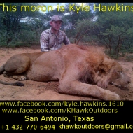 https://www.facebook.com/kyle.hawkins.1610 https://www.facebook.com/KHawkOutdoors