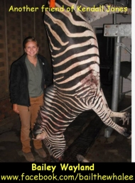 Another of Kendall Joes' moronic, thrill-killing friends http://www.facebook.com/bailthewhalee