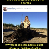 https://www.facebook.com/hadley.elston Works here: https://www.facebook.com/JWilliamsStaffing