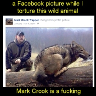 Mark Crook, another waste of oxygen that the planet could well do without https://www.facebook.com/profile.php?id=100008794759156