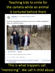 Their parents are nothing more than sadists and child-abusers https://www.facebook.com/pages/Trapped/1375554882763228